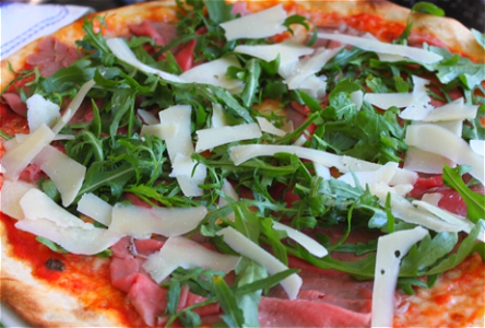 Foto Pizza Crudo e Rucola
